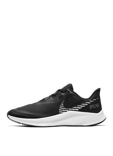 Nike Nike Quest 3 Shield Kadın  Koşu Ayakkabısı Siyah